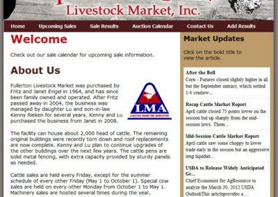 Fullerton Livestock Market