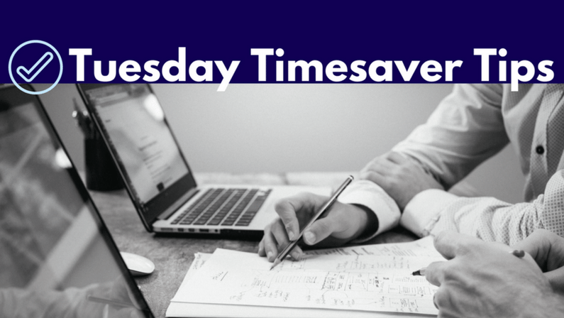 Tuesday Timesaver Tips: Branding