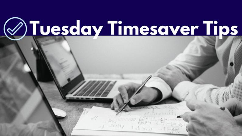 Tuesday Timesaver Tips: Branding
