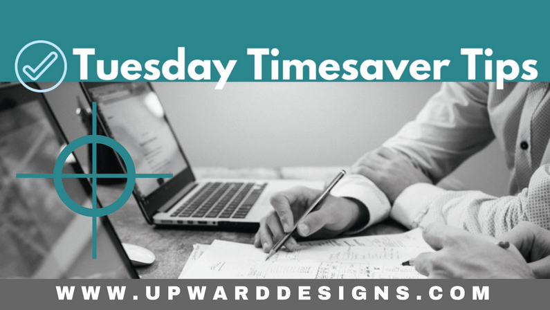 Tuesday Timesaver Tips: MINDSET Check