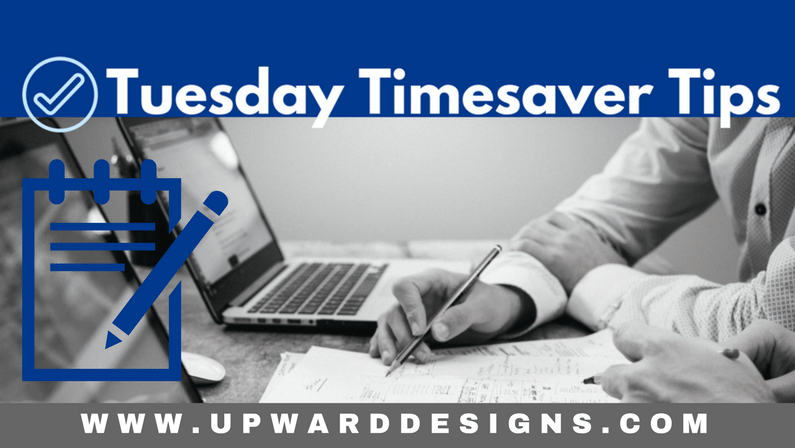 Tuesday Timesaver Tips: MAIL MERGE!
