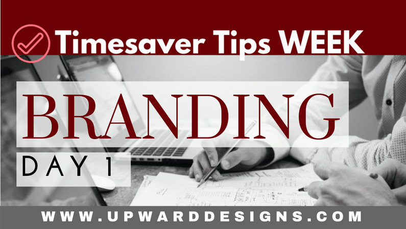 Timesaver Tips WEEK: Day 1