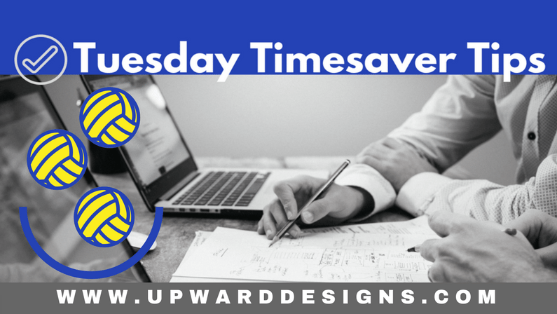 Tuesday Timesaver Tips: Discombobulation Strikes!