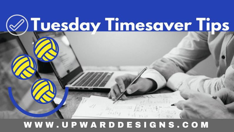 Tuesday Timesaver Tips: Discombobulation Strikes!