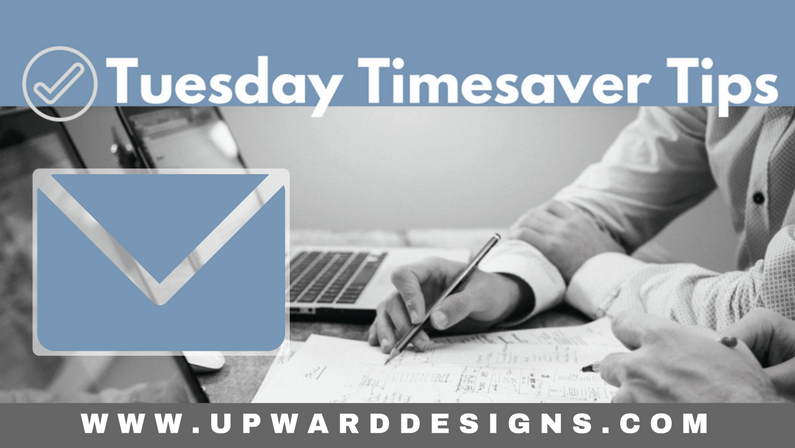 Tuesday Timesaver Tips: Conquer Email