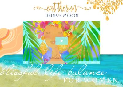 Eat the Sun Drink the Moon